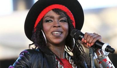 **FILE** Singer Lauryn Hill performs April 15, 2011, during the 12th Coachella Valley Music and Arts Festival in Indio, Calif. (Associated Press)