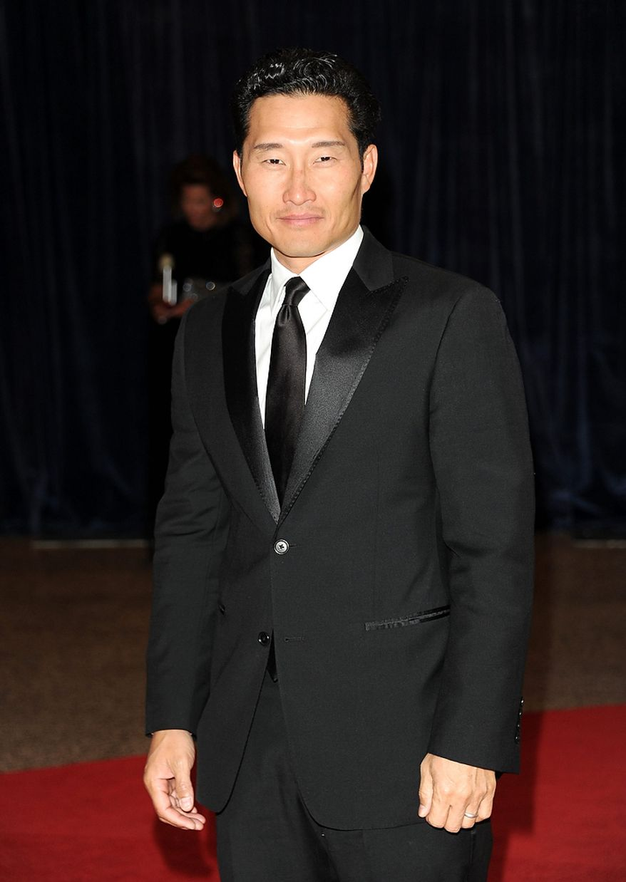 Actor Daniel Dae Kim attends the White House Correspondents' Association Dinner at the Washington Hilton Hotel on Saturday, April 27, 2013, in Washington. (Evan Agostini/Invision/AP)