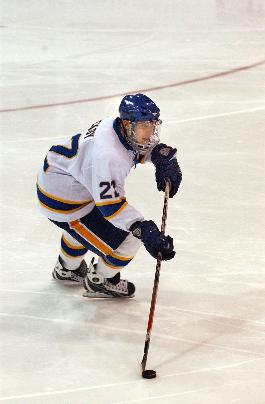 **FILE** Capitals defenseman Steve Oleksy played three seasons at Lake Superior State (Lake Superior State University)