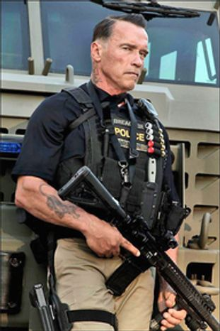 """""""The time has come for Congress to pass comprehensive immigration reform,"""" says Arnold Schwarzenegger, who came to the U.S. from Austria. He will host an immigration forum Tuesday at the University of Southern California. He plays a DEA agent in his next film."""