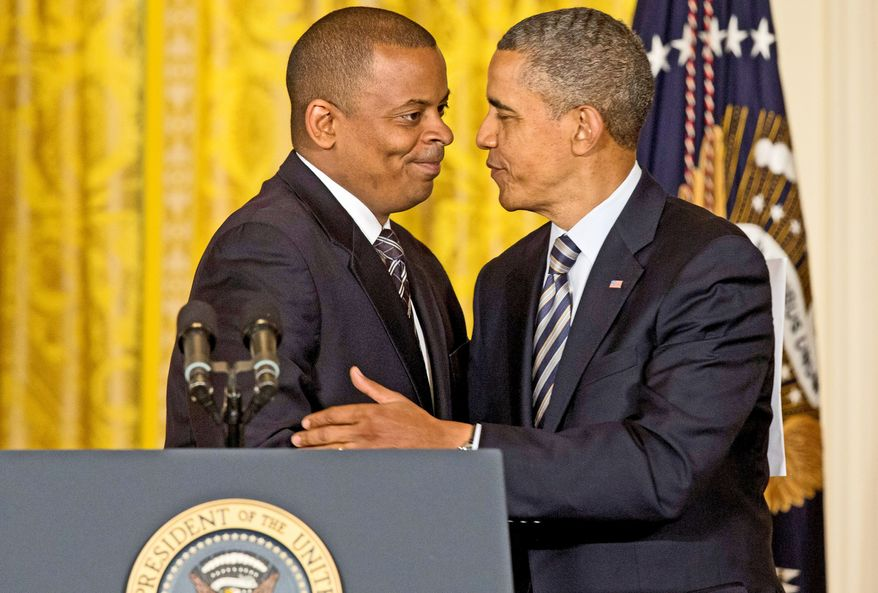 President Obama introduces Anthony Foxx as his nominee to be transportation secretary. Some see Mr. Foxx, mayor of Charlotte, N.C., as a rising star in the Democratic Party. (Associated Press)