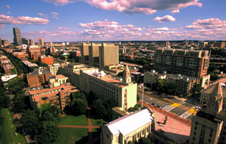 (Screenshot from http://www.bu.edu/)