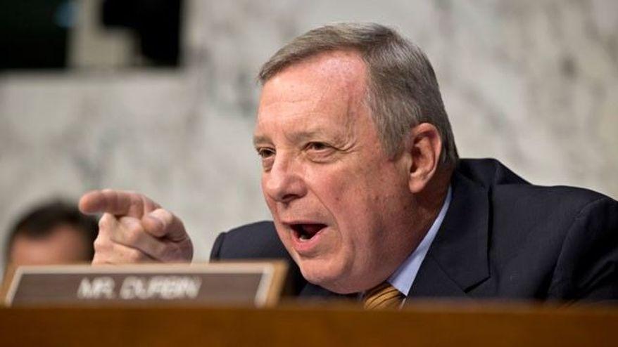 Sen. Richard J. Durbin, Illinois Democrat (Associated Press)