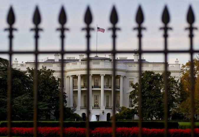 The White House is pictured on Sunday, Nov. 12, 2000, in Washington. (AP Photo/Robert F. Bukaty)