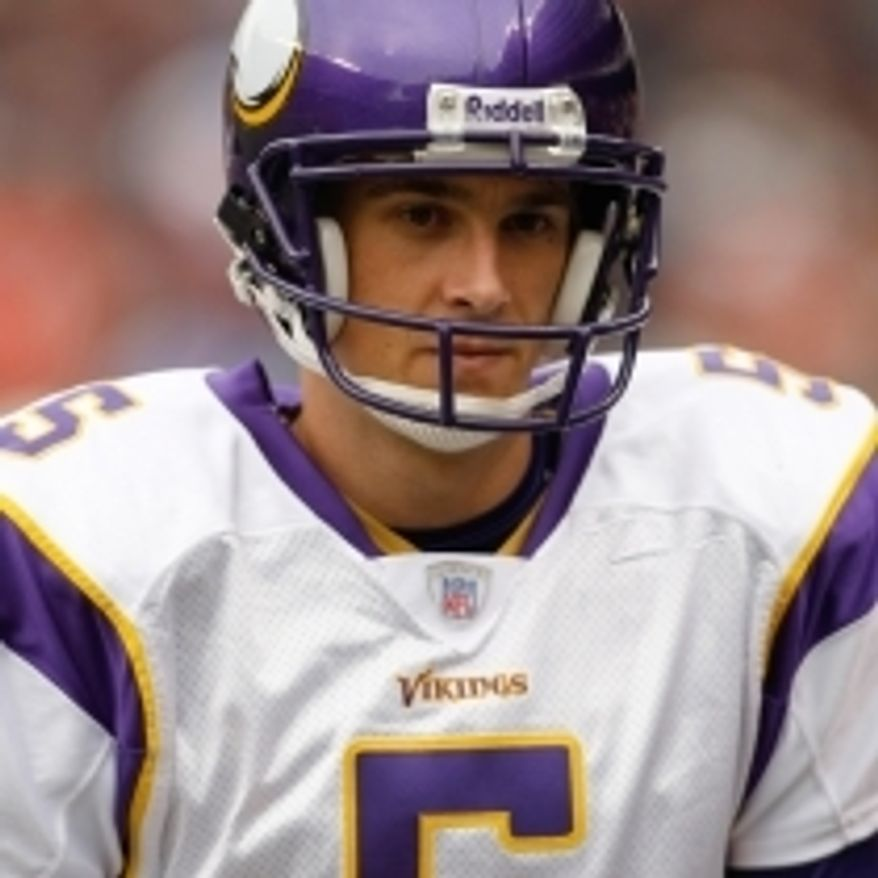 Former Minnesota Vikings punter Chris Kluwe. (Credit: Associated Press)