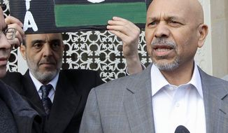 Ambassador Ali Suleiman Aujali's position could be in jeopardy for his ties to Moammar Gadhafi. (associated press)
