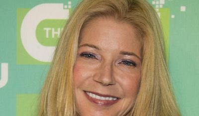 **FILE** Candace Bushnell attends the CW Television Network's Upfront 2012 in New York on May 17, 2012. (Associated Press)