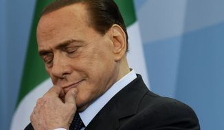 **FILE** Silvio Berlusconi (Associated Press)
