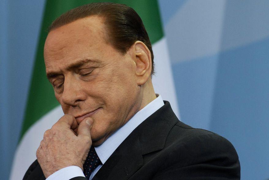 **FILE** Silvio Berlusconi (Associated Press)