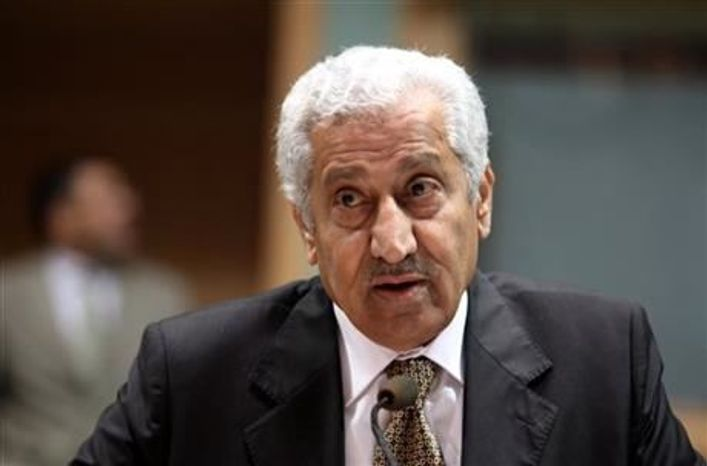 ** FILE ** Jordanian Prime Minister Abduallah Ensour (Associated Press)