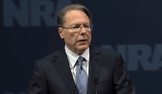2013 NRA Members' Meeting: Wayne LaPierre screenshot