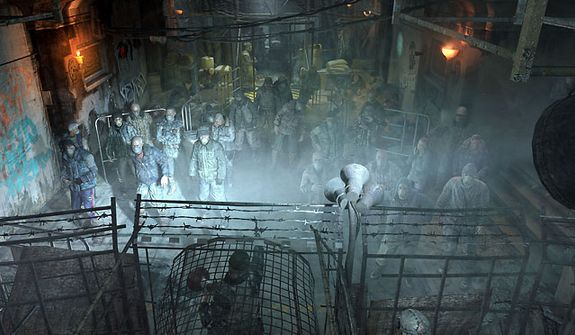 Meet what's left of humanity in the first person shooter Metro: Last Light.