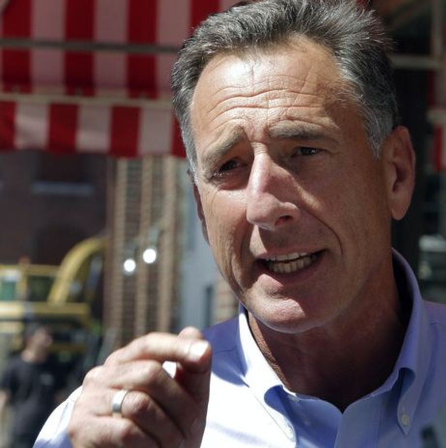 ** FILE ** Vermont governor Peter Shumlin. (Associated Press)