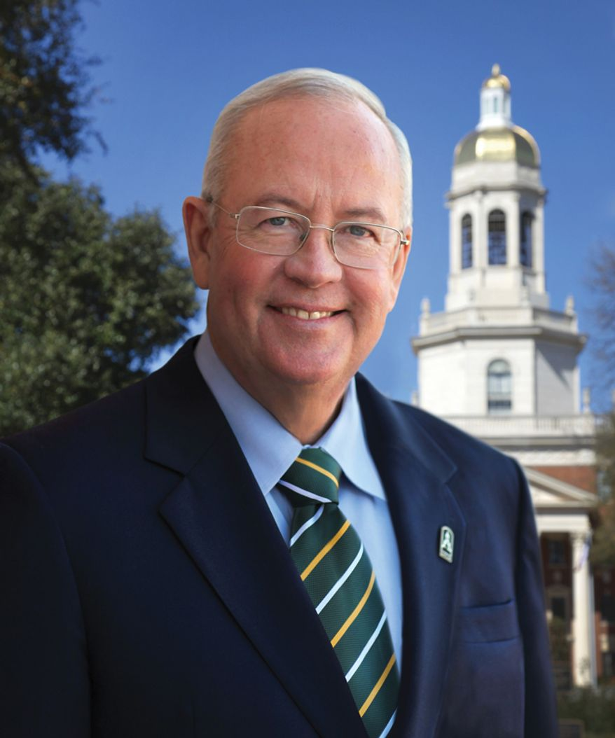 Ken Starr, a former independent special counsel of the Clinton era, is now president of Baylor University. (Baylor University)