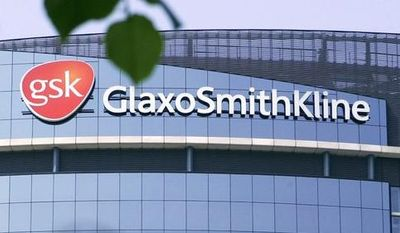 The London headquarters of the pharmaceutical company GlaxoSmithKline PLC is pictured in 2006. (Associated Press)