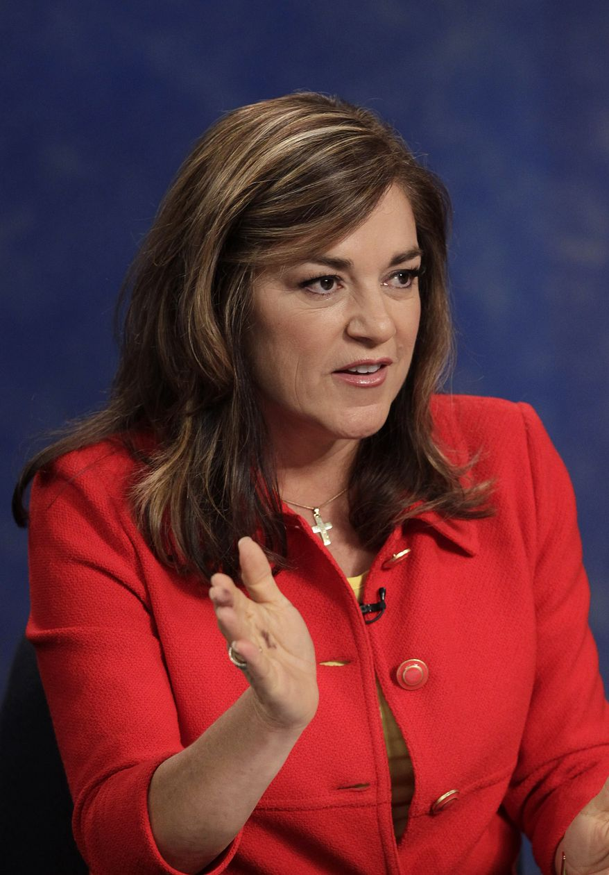 **FILE** Rep. Loretta Sanchez, California Democrat (Associated Press)
