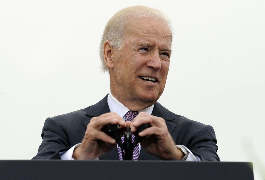 ** FILE ** Vice President Joseph R. Biden (AP Photo/Jessica Hill)