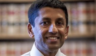 Judge Sri Srinivasan. (Image: U.S. Justice Department) ** FILE **