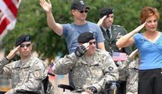 Gary Sinise Memorial Day parade