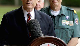 BSA Chief Scout Executive Wayne Brock (Associated Press)