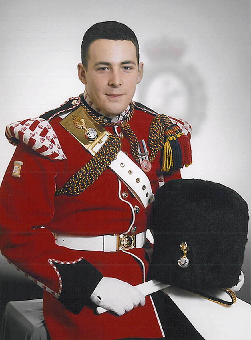 Drummer Lee Rigby of the 2nd Battalion of the Royal Regiment of Fusiliers was attacked and killed on Wednesday, May 22, 2013, near his barracks in the Woolwich section of London. (AP Photo/Ministry of Defence)
