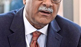 Pakistani journalist Najam Sethi is the presumed front-runner to serve as the next ambassador to the United States. (Associated Press)