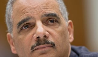 """""""With regard to the potential prosecution of the press for the disclosure of material — that is not something I've ever been involved in, heard of, would think would be wise policy,"""" Attorney General Eric Holder said in his May 15 testimony to Congress on the Justice Department's probe into media leaks."""