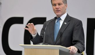 ** FILE ** Virginia Gov. Bob McDonnell.