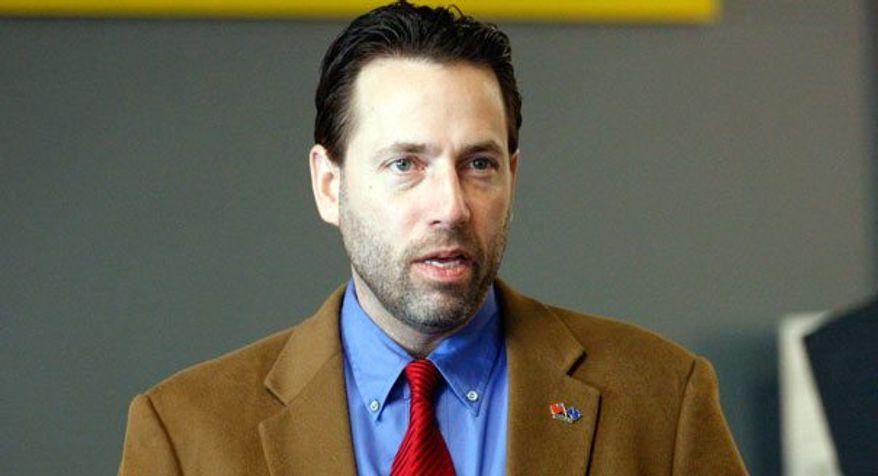 Tea party favorite Joe Miller has filed paperwork to formally enter the U.S. Senate race in Alaska. (Associated Press)