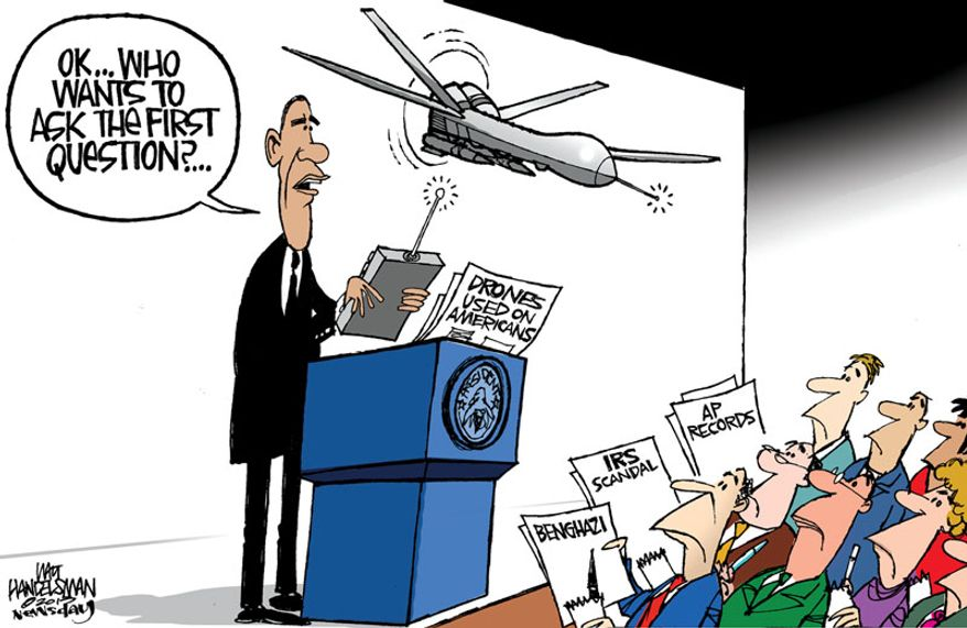 Illustration by Walt Handelsman of Newsday