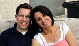 Yanira Maldonado and her husband, Gary, are shown in a 2012 family photo. (AP Photo/Maldonado Family)