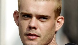 ** FILE ** Joran Van Der Sloot. (Associated Press)