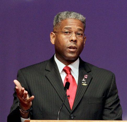 **FILE** Former Rep. Allen B. West (Associated Press)