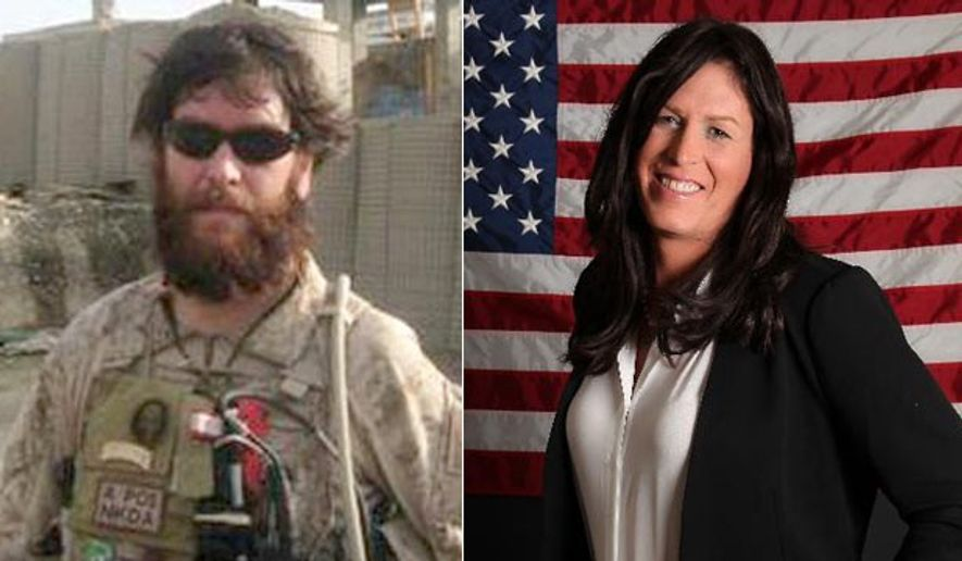 "Former Navy SEAL Chris Beck chronicles the transformation to a woman, Kristin Beck, in her new book ""Warrior Princess."""