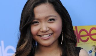 "The Filipino singer Charice, a cast member in ""Glee,"" arrives at the television show's second-season premiere in Los Angeles on Sept. 7, 2010. (AP Photo/Chris Pizzello)"