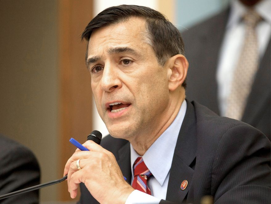 Republican Darrell E. Issa, chairman of the House Oversight and Government Reform Committee, has become a thorn in the Obama administration's side, investigating a series of scandals. (Associated Press)