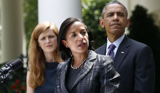 President Obama and White House National Security Adviser Susan E. Rice (Associated Press/File)