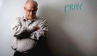 "Gary L. Edwards of Falls Church is a member of Samaritan Ministries International, a ""health care sharing ministry"" in which Christian members use monthly shares to pay for each other's medical needs. Such ministries are one of nine exemptions built into the Affordable Care Act, which goes into effect next year. (Andrew Harnik/The Washington Times)"