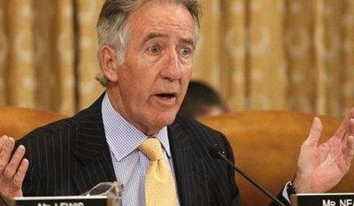 Rep. Richard Neal, D-Mass., asks a question during a House Ways and Means Committee hearing of organizations that say they were unfairly targeted by the Internal Revenue Service while seeking tax-exempt status, in Washington, on Tuesday, June 4, 2013. (AP Photo/Jacquelyn Martin)