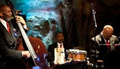 Jazz bassist Ron Carter (left) will appear with his Golden Striker Trio at the Hamilton as part of the 2013 DC Jazz Festival.