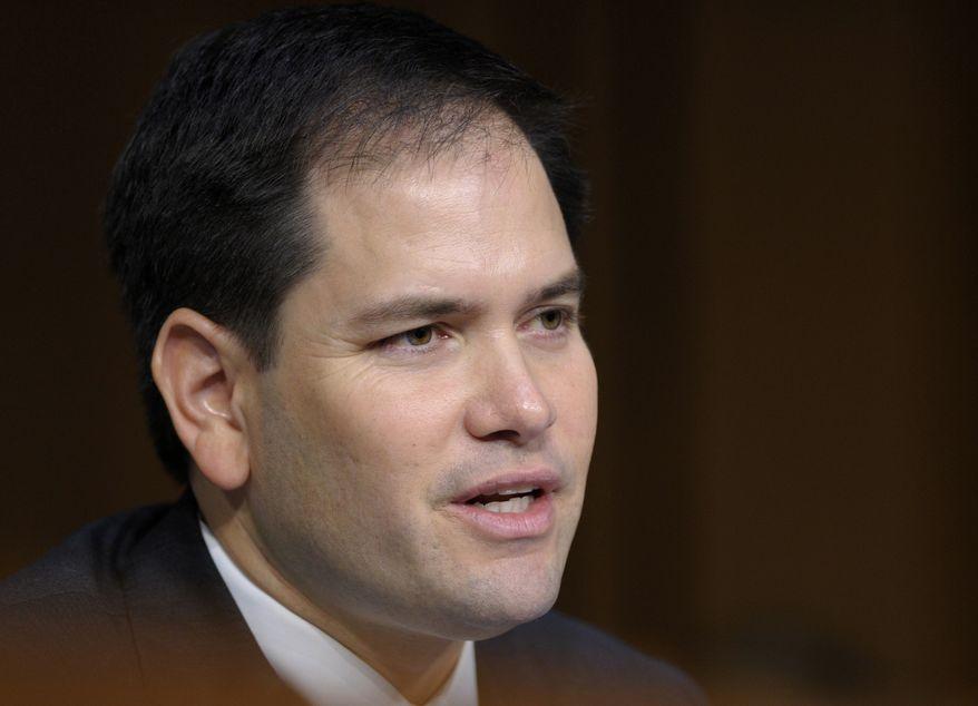 **FILE** Sen. Marco Rubio, Florida Republican (Associated Press)