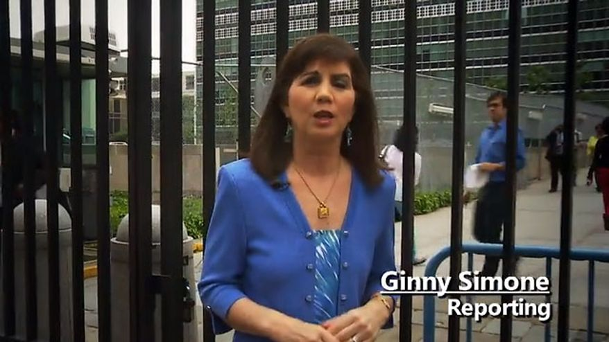 "NRA News Ginny Simone Investigative Report: ""UN Arms Treaty"" screenshot"