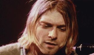 Kurt Cobain of the rock band Nirvana committed suicide on April 5, 1994. (Associated Press)