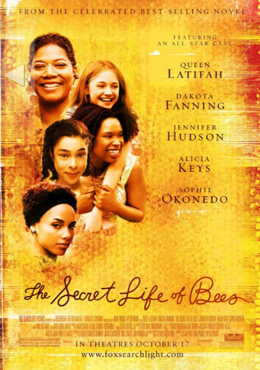 """(Screen shot of a poster from """"The Secret Life of Bees""""/IMBD.com)"""