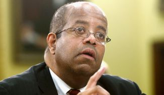 ** FILE ** J. Russell George is the Treasury Department's inspector general for tax administration. (Associated Press)