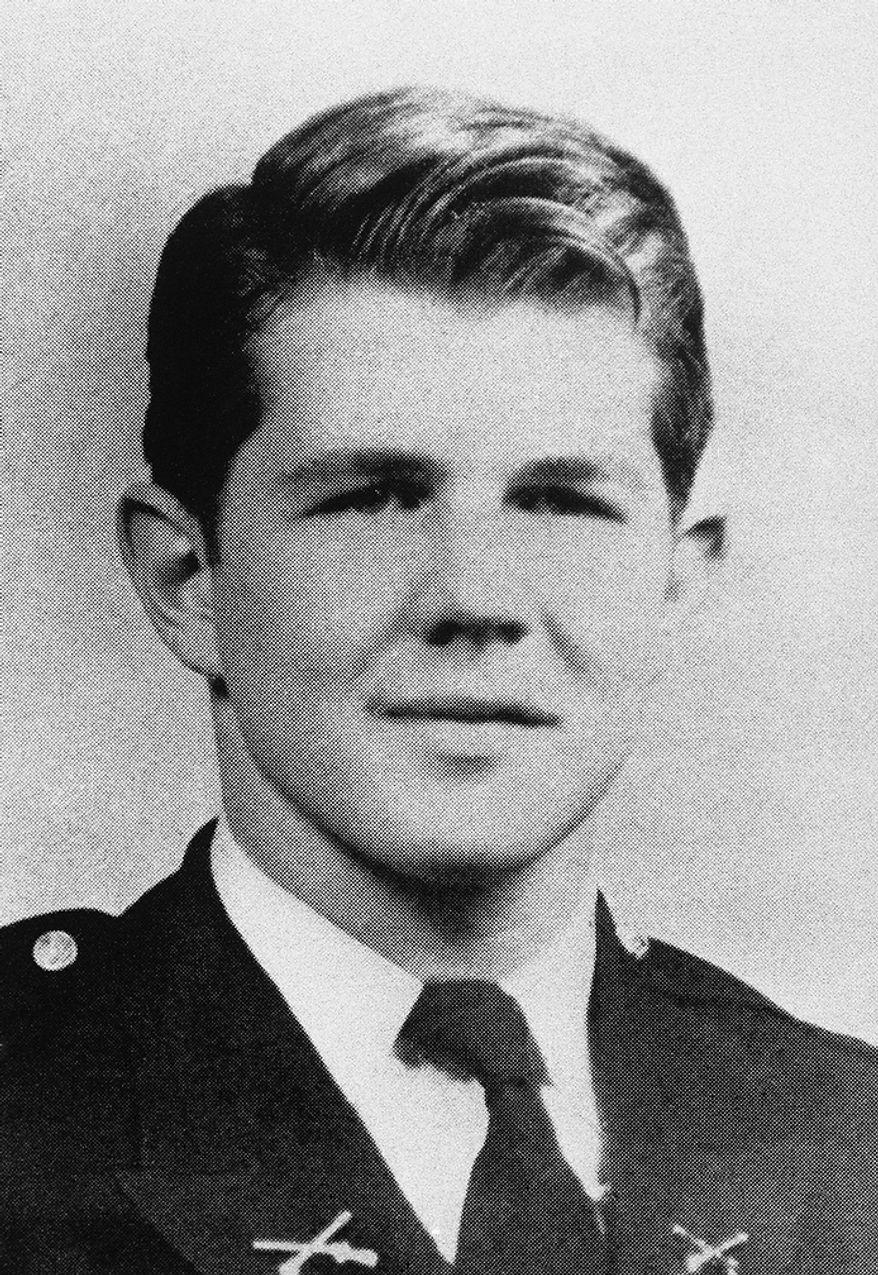Televangelist Pat Robertson in his senior year at the McCallie School in Chattanooga, Tenn., 1946. (AP Photo)