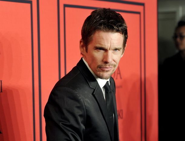 Actor Ethan Hawke attends the 2013 CFDA Fashion Awards at Alice Tully Hall in New York on Monday, June 3, 2013. (Evan Agostini/Invision/AP)