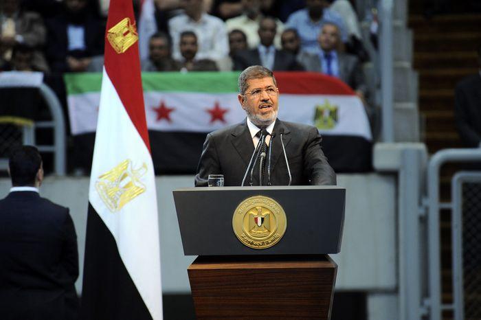 Egyptian President Mohammed Morsi (AP Photo/Egyptian Presidency)