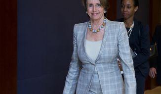 Rep. Nancy Pelosi, California Democrat (AP Photo/Manuel Balce Ceneta)