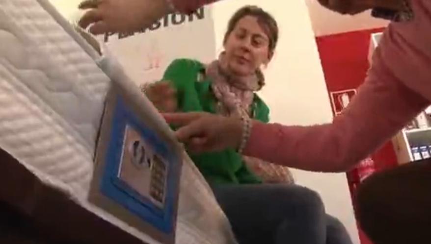 Screen shot of Associated Press video.